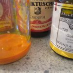 Aus Krapprot und Goldgelb mische ich mir Orange - Susanne Haun