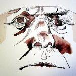 Der Mund ist sehr charismatisch - Zeichnung von Susanne Haun