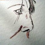 Ich beginne ein neues Blatt und erforsche Lisa Mc Neals Linien aufs Neue - Susanne Haun