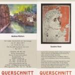 Einladung Galerie am Michel Ausstellung Querbeet