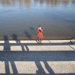 Conny an der Elbe - Foto von Susanne Haun