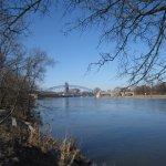Die Elbe zum Magdeburger Dom hin - Foto von Susanne Haun