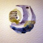 Die Kugeln der Säule faszinieren mich - Entstehung Zeichnung von Susanne Haun