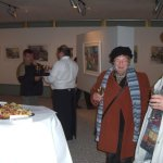Die Vernissage von Andreas war sehr voll - Foto von Susanne Haun