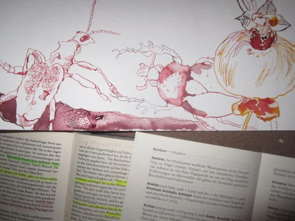 Wie kam es vom Käfer zum Menschen - - Ausschnitt aus Rollenobjekt von Susanne Haun
