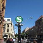 S-Bahn Oranienburger Str. - Foto von Susanne Haun