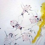 """Die Käfer - Ausschnitt aus der Rolle """"Das Buch Henoch"""" von Susanne Haun"""