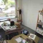 Ikea Ivar, es begleitet mich nun in mein viertes Atelier - Foto von Susanne Haun