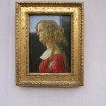 Porträt der Simonetta Vespucci in der Gemäldegalerie