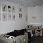 Der Grafikschrank kommt neben die Regale - Foto von Susanne Haun