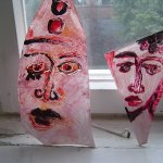 Scherbengesichter 4 und 5 von Susanne Haun