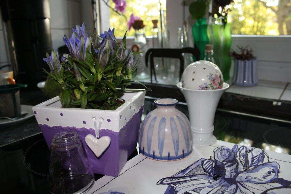 Blumenstück Enzian - Foto von Susanne Haun