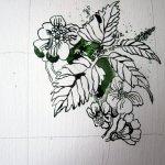 Brennnessel und Scharfgabe - Zeichnung von Susanne Haun