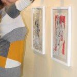 Zeichnungen Hängen - Foto von Susanne Haun
