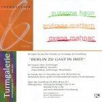 Einladung zur Ausstellung in der Turmgalerie Imst