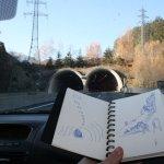 Ich skizziere gerne im Auto - Susanne Haun