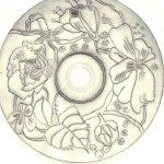 2. Probedruck Blumenkranz von Susanne Haun