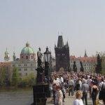 Prag von der Karlsbrücke aus - Foto von Susanne Haun