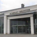 Der Lesetempel - Humboldt-Bilbliothek - Foto von Susanne Haun