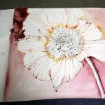 Fertigstellung Zinie 115 x 120 cm (c) Zeichnung von Susanne Haun (2)