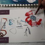 Kurs A - Blumenstücke, Schülerin Cordula (c) Foto von Susanne Haun