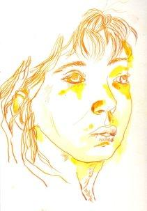 Szenenbild Selbstportrait (c) Zeichnung von Susanne Haun