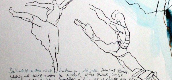 Bewegung und Tanz VII (c) Zeichnung von Susanen Haun