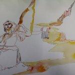 Entstehung der Schlucht der Verfluchten (c) Zeichnung von Susanne Haun