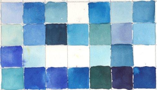 Wahrnehmung Blau (c) von Susanne Haun