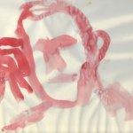 Silhouette Rot Boccioni (c) Zeichnung von Susanne Haun