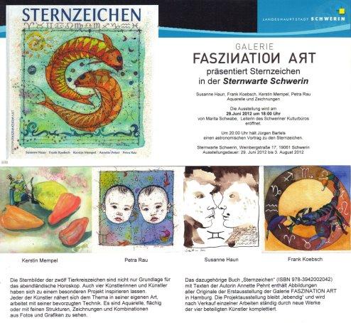 Einladung Sternwarte Schwerin - Sternzeichen