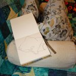 Kissen Zeichnen (c) Foto von Susanne Haun
