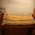 Tabula Preutingeriana, mittelalterliche Karte (c) Foto von Susanne Haun