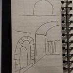 Portico di Romagna (c) Skizzen von Susanne Haun