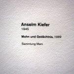 Anselm Kiefer im Hamburger Bahnhof (c) fotografiert von S.Haun