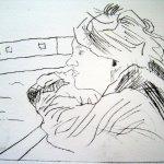 Kaltnadelradierung in Acrylplatte (c) von Susanne Haun