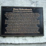 Etwas zur Geschichte von Hohenbusch (c) von Susanne Haun