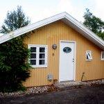 Dieses schnuckelige kleine Holzhaus haben wir gemietet (c) Foto von Susanne Haun