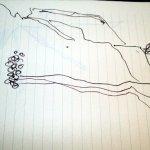 Kreidefelsen schneller Eindruck 3 (c) Skizze von Susanne Haun (2)