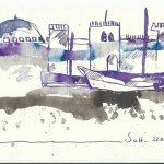 Blatt 23 Auf dem Kanopus Version 1 (c) Zeichnung von Susanne Haun