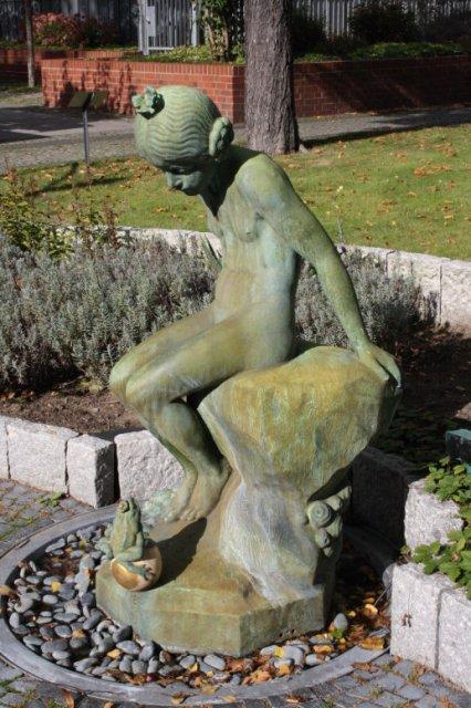 Der Prinzessinenbrunnen vor dem Krankenhaus (c) Foto von Susanne Haun