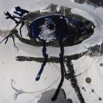 Der Dämon weint (c) Leinwand von Susanne Haun