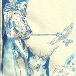 Titelrahmen Version 1 Zustand 3 (c) Zeichnung von Susanne Haun
