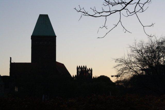 Ein Blick auf das Märkische Museum und Nikolaikirche (c) Foto von Susanne Haun