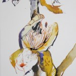 Der Sommer trägt weiss Vers. 1 50 x 20 cm (c) Zeichnung von Susanne Haun