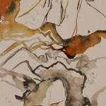 Der Sommer trägt weiss Version 2 50 x 20 cm (c) Zeichnung von Susanne Haun