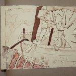 26 Keiner der beiden Haie zeigte sich (c) Zeichnung von Susanne Haun
