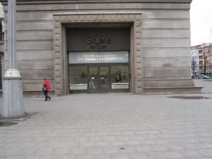 Eingang der Galerie (c) Foto von Susanne Haun