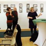 Letzte Informationen von der Kulturbeauftragten der Botschaft (c) Foto von Susanne Haun