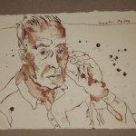 6 Der alte Mann war dünn und hager (c) Zeichnung von Susanne Haun